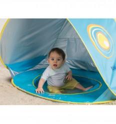 Ludi - Piscina para bebés con techo, juguete de playa