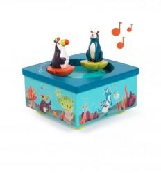 Moulin Roty - Caja de música - En la jungla