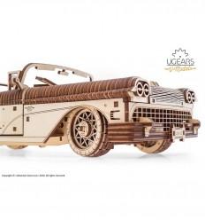 UGears - Cabriolet de ensueño VM-05, kit de madera 3D