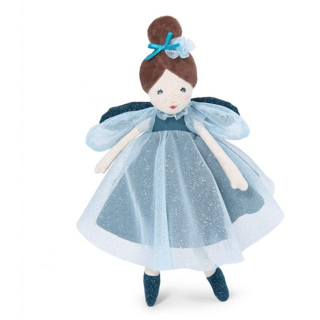 Moulin Roty - Blue Fairy little Doll - Once upon a time