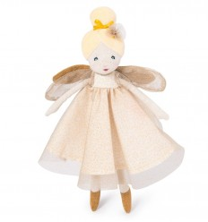 Moulin Roty - Golden Fairy little Doll - Once upon a time