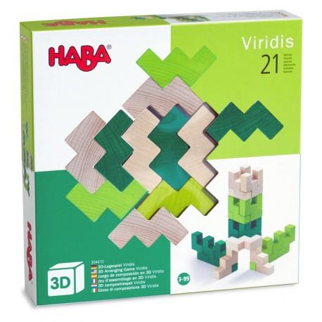 HABA - Viridis, Juego de composición en 3D