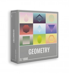 Cloudberries - Geometry, 1000 pz puzzle - Cucutoys