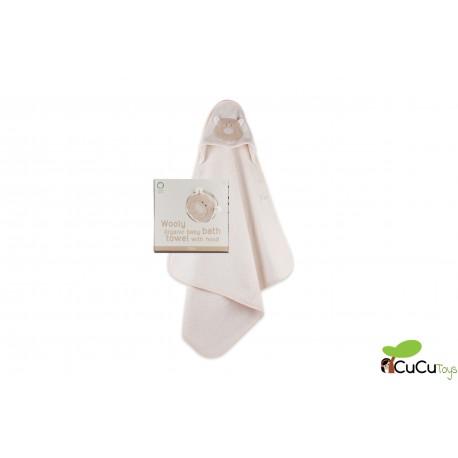 Wooly Organic - Capa de baño ecológica osito