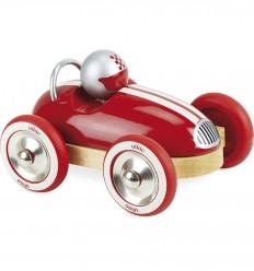 Vilac - Coche de carreras vintage Roadster rojo