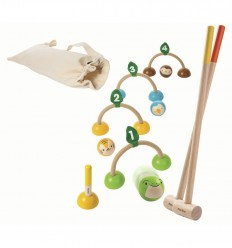 Plantoys - Juego de Croquet, juguete ecológico