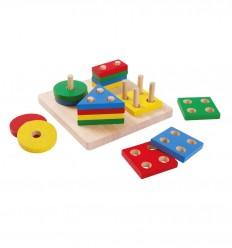 Plantoys -Figuras geométricas, juguete educativo