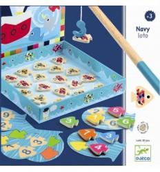 Djeco - Navy Loto, juego de habilidad