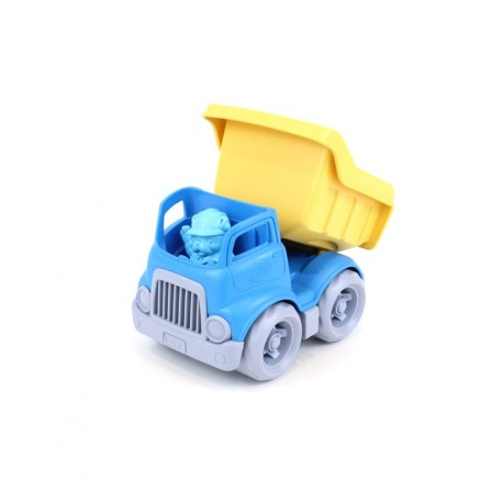 Greentoys - Volquete pequeño azul, juguete ecológico