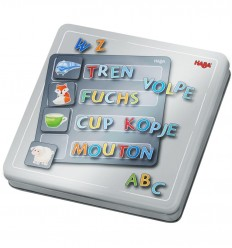 HABA - Letras, caja de juego magnético