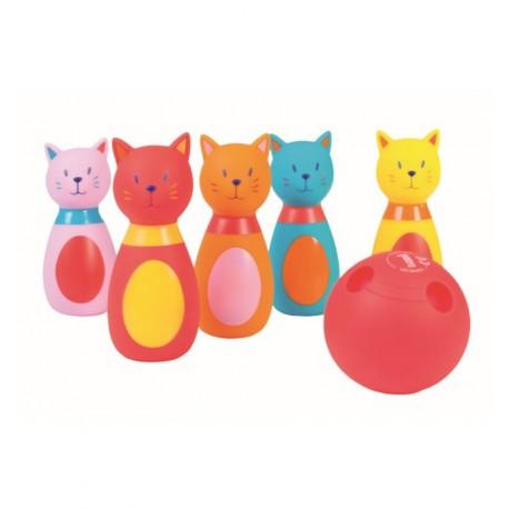 Ludi - Juego de bolos de gatos, juego de habilidad