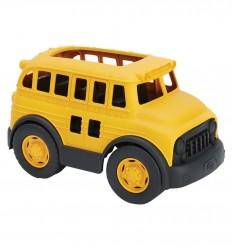 Greentoys - Autobus de ruta escolar, juguete ecológico