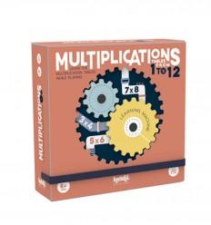 Londji - Multiplications, Jogo de tabuleiro - Cucutoys