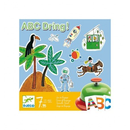 Djeco - ABC Dring, juego de lenguaje