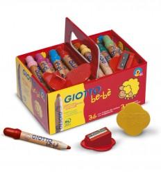Giotto - Pack escolar 36 lápices para bebés