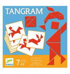 Djeco - Tangram, juego de mesa