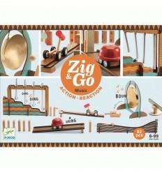 Djeco - Zig & Go 45 piezas, circuito creativo