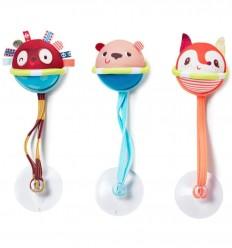 Lilliputiens - 3 Pelotas de neopreno, juguete de baño