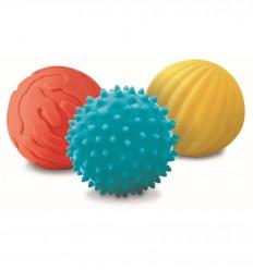 Ludi - Conjunto de 3 pelotas sensoriales