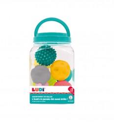 Ludi - Conjunto de 8 pelotas sensoriales