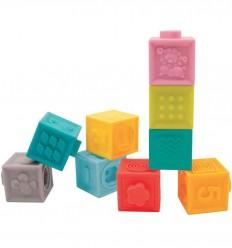 Ludi - Conjunto de 9 cubos apilables y encajables