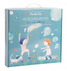 Moulin Roty - XXL Giant soap bubbles kit, outdoor toy