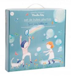 Moulin Roty - XXL Kit de bolhas de sabão gigante, brinquedo de exterior