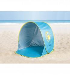 Ludi - Tienda anti viento con protección solar UV50, juguete de playa