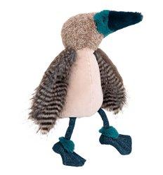 Moulin Roty - Pájaro Loco de patas azules de peluche - Alrededor del Mundo