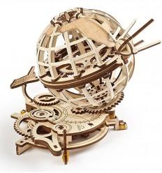 UGears - Globus, kit de madera 3D