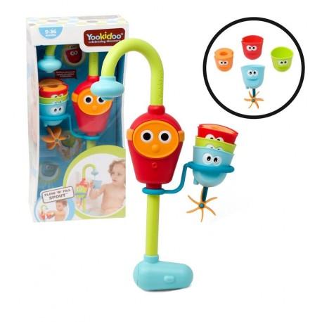 Yookidoo - Grifo y vasitos divertidos, juguete de baño