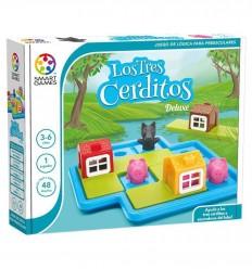 Smart Games - Los Tres Cerditos - Cucutoys