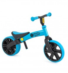 Yvolution - Bici de equilibrio Yvelo Junior Azul