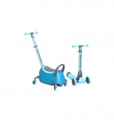 Yvolution - Yglider Luna Scooter Blue