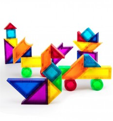 Kebo - Extended Tangram 3D, juguete magnético de construcción