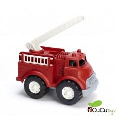 GreenToys - Camión de Bomberos de color rojo