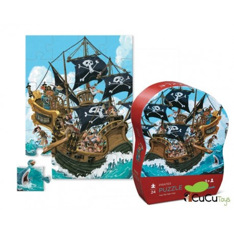 Crocodile Creek - Piratas, Puzzle 24 piezas