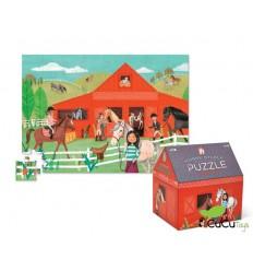 Crocodile Creek - Establo de Caballos, Puzzle 48 piezas