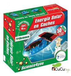 Science4You - Coche ecológico solar, juguete infantil