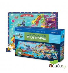 Crocodile Creek - Descubre Europa, Puzzle Gigante