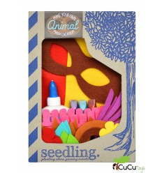 Seedling - Juego Máscara de Animal para decorar, juguete creativo