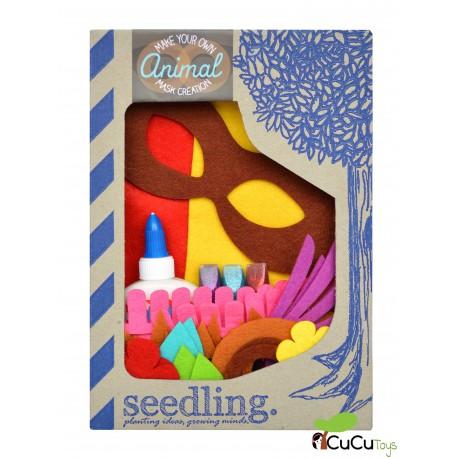 Seedling - Juego Máscara de Animal para decorar, juguete creativo