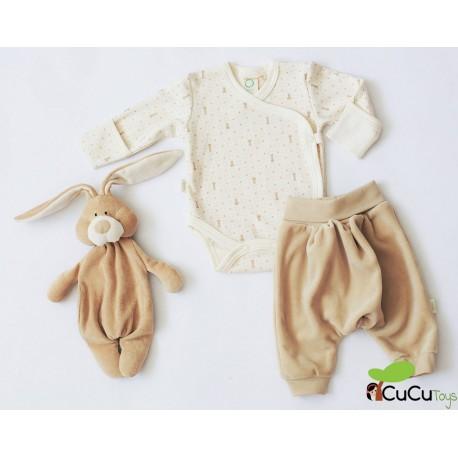 Wooly Organic - Conjunto de ropita para bebés