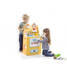 Krooom - Cocina esencia de Azafrán, juguete de cartón reciclado