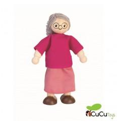 Plantoys - Muñeco de abuela para casa de muñecas