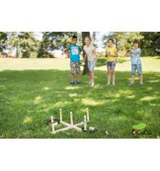 BuitenSpeel - Lanzar anillos, juego de aire libre