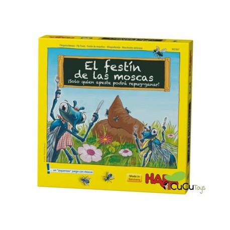Haba - El festín de las moscas, juego de mesa