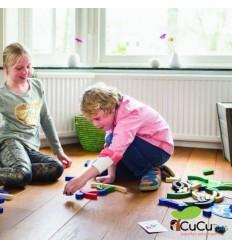 BuitenSpeel - bloques de deporte, juego de habilidad y memoria