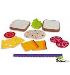 Haba - Sandwich de tela, juguete infantil