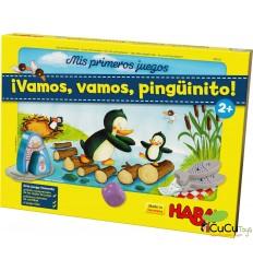 HABA - Mis primeros juegos - ¡Vamos, vamos, pingüinito!, juego de mesa